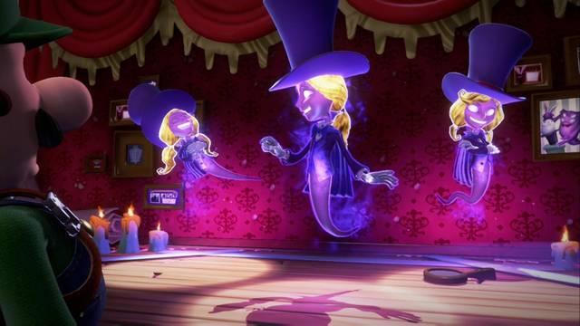Cómo derrotar a Nova, Luz y Gala en Luigi's Mansion 3