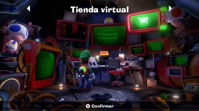 Tienda en Luigi's Mansion 3: cómo funciona y objetos