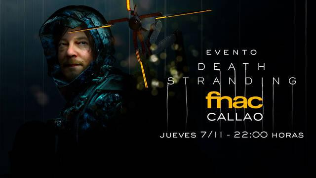 Evento Death Stranding FNAC Madrid