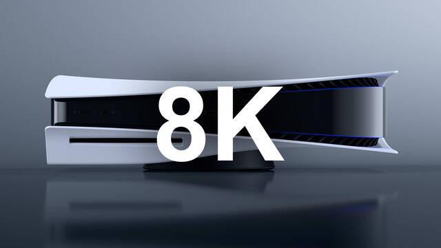 PS5 compatible resolución 8K firmware