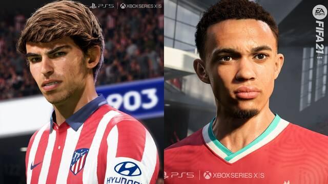 FIFA 21 muestra sus primeras imágenes en PS5 y Xbox Series X/S.