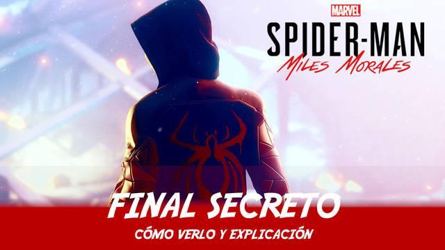 Final secreto explicado en Spider-Man: Miles Morales