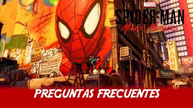 Preguntas frecuentes en Spider-Man: Miles Morales