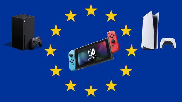 Europa pone impuestos a consolas de estados unidos