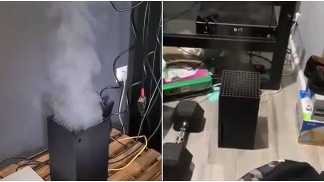 Xbox Series X está que arde