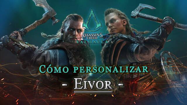 Assassin's Creed Valhalla: Cambiar el género de Eivor y personalizarlo
