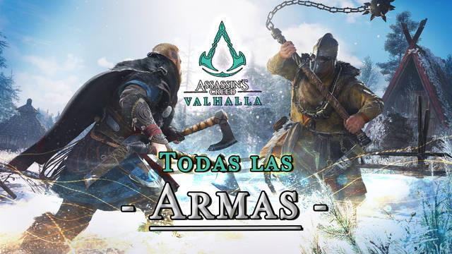 Armas en Assassin's Creed Valhalla: Cómo conseguirlas y mejorarlas