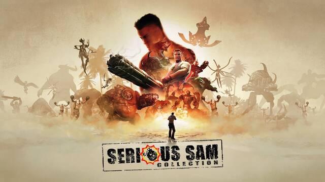Serious Sam Collection llegará el 17 de noviembre a PS4, Xbox One y Switch.