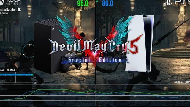 Primera comparativa del mismo juego en PS5 y Xbox Series X.