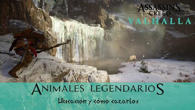 AC Valhalla: TODOS los animales legendarios y cómo cazarlos