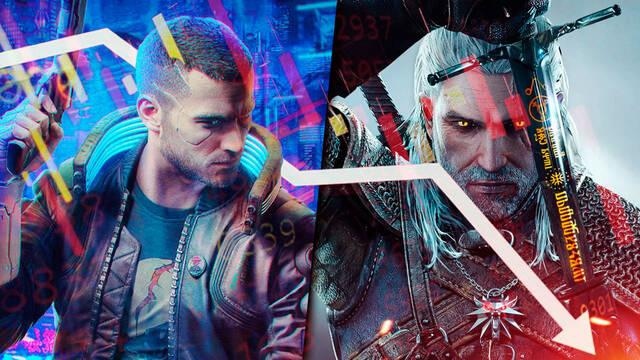 Caen las acciones de CD Projekt RED Cyberpunk 2077 y The Witcher 3