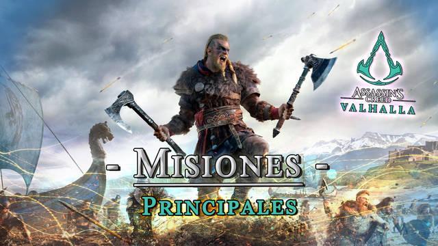 Todas las misiones al 100% en Assassin's Creed Valhalla
