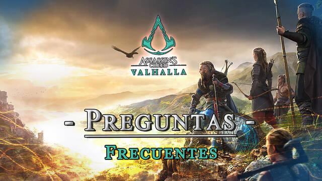 Assassin's Creed Valhalla: Preguntas frecuentes y resolución de problemas