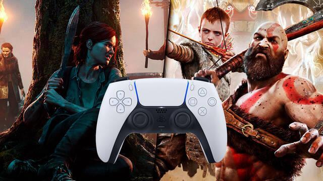 God of War, The Last of Us 2 en PS5 con DualSense