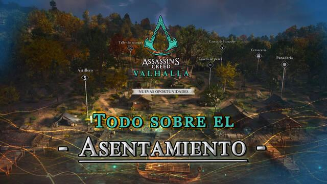 Asentamiento en Assassin's Creed Valhalla: Todas las mejoras y edificios