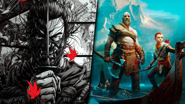 Ventas millonarias Ghost of Tsushima y God of War PS4
