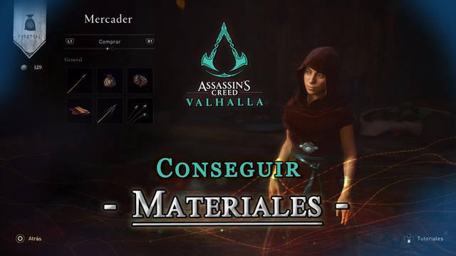 Assassin's Creed Valhalla: TODOS los materiales y cómo conseguirlos