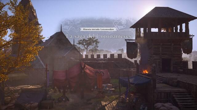 La saga del Coronarreyes al 100% en Assassin's Creed Valhalla