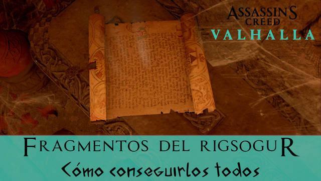 AC Valhalla: TODOS los fragmentos del Rigsogur