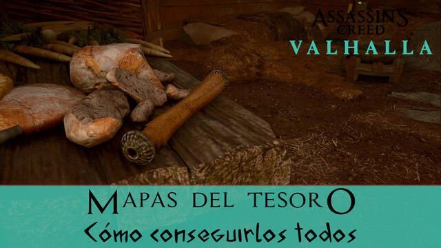 AC Valhalla: TODOS los mapas del tesoro y cómo conseguirlos