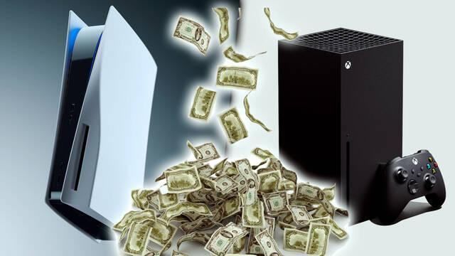 PS5 y Xbox Series X especulación dinero precios subasta