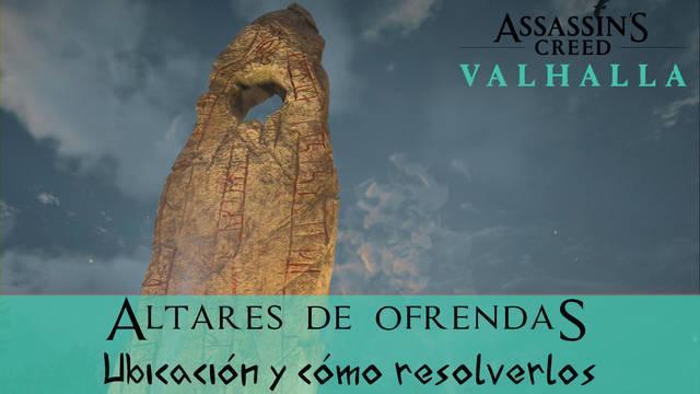 AC Valhalla: TODOS los altares de ofrendas y cómo completarlos