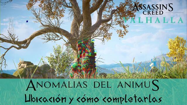 AC Valhalla: TODAS las anomalías del Animus