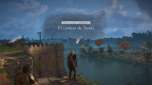 El cantar de Soma al 100% en Assassin's Creed Valhalla