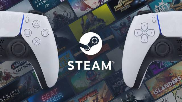 DualSense, el mando de PS5, ya funciona en Steam.