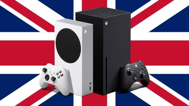 Estimación de ventas de Xbox Series X/S en Reino Unido.