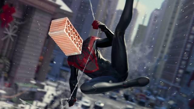 El bug que te convierte en un ladrillo en Spider-Man: Miles Morales.