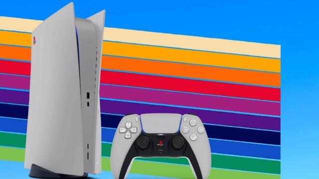 PS5 carcasas distintos colores
