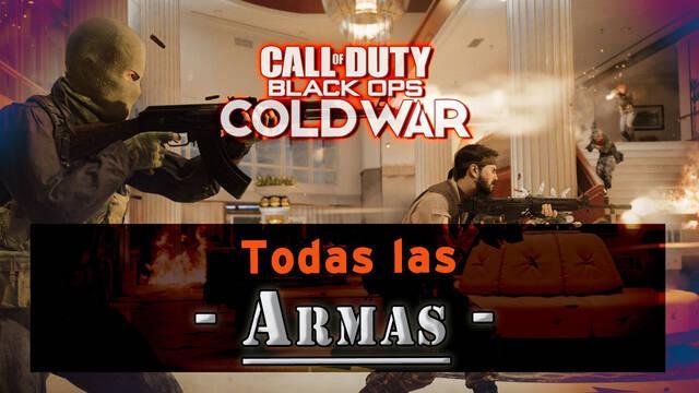 CoD: Black Ops Cold War: TODAS las armas y estadísticas