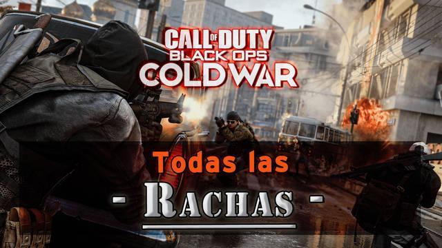 Todas las Rachas de bajas en CoD: Black Ops Cold War