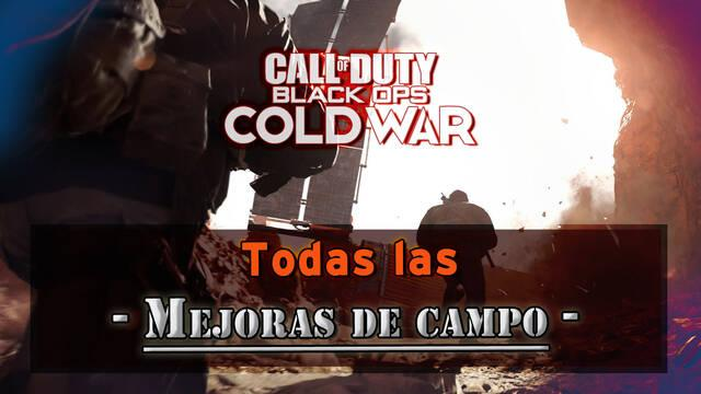 Mejoras de campo en Call of Duty: Black Ops Cold War