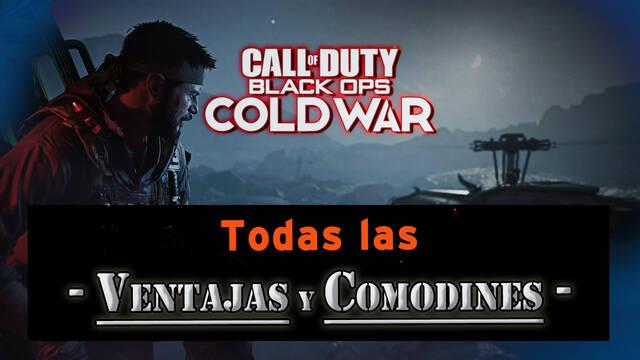 CoD: Black Ops Cold War: TODAS las ventajas y comodines