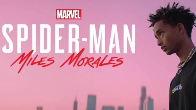 Jaden Smith lanza un tema inspirado en Spider-Man: Miles Morales.