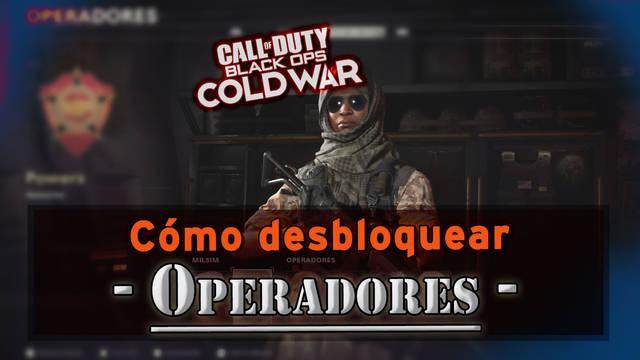 Todos los operadores de COD: Black Ops Cold War y cómo desbloquearlos