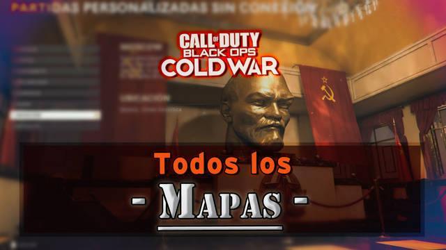 COD Black Ops Cold War: Todos los mapas multijugador