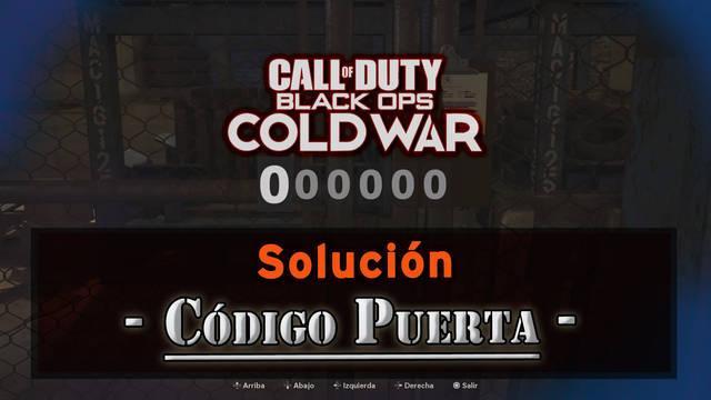 CoD Black Ops Cold War: Código de la puerta del Refugio de la CIA y solución