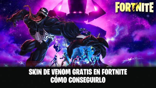 Skin Venom en Fortnite