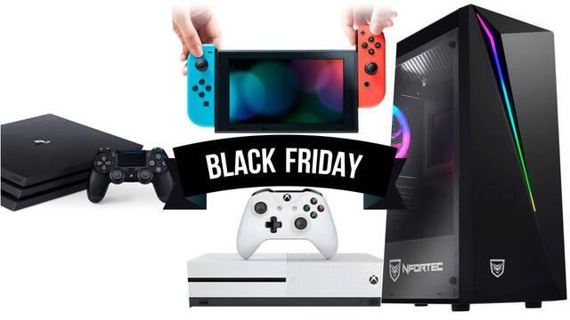 Black Friday ofertas videojuegos consolas