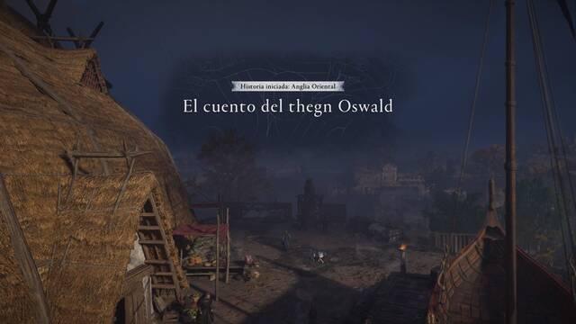 El cuento del thegn Oswald al 100% en Assassin's Creed Valhalla
