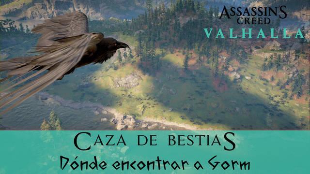 AC Valhalla: localización de Gorm en la misión Caza de bestias