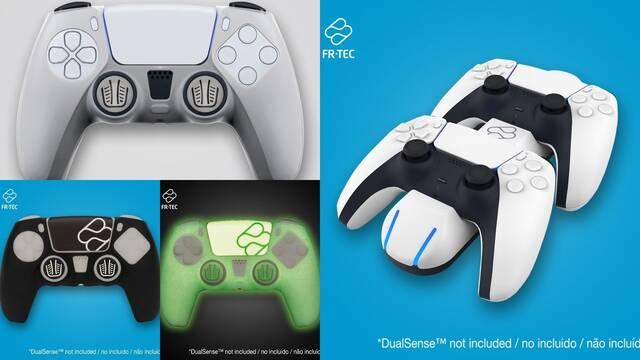 Accesorios de FR-TEC para PS5 y DualSense.