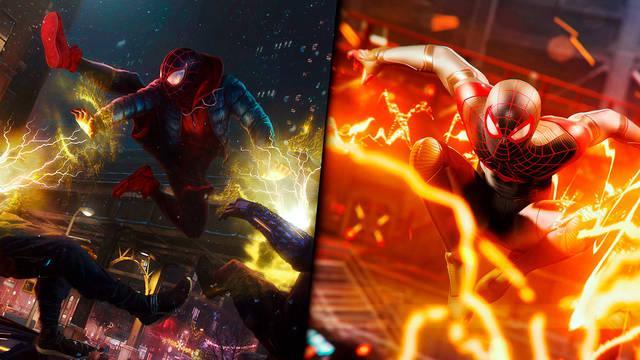Spider-Man: miles Morales PS5 comparado con PS4