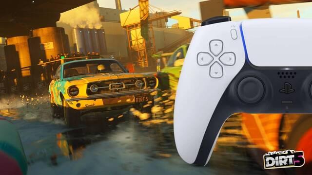 DiRT 5 modificará su respuesta háptica en PS5.