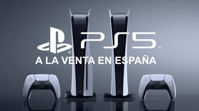 PS5 a la venta en España ya puedes comprarla