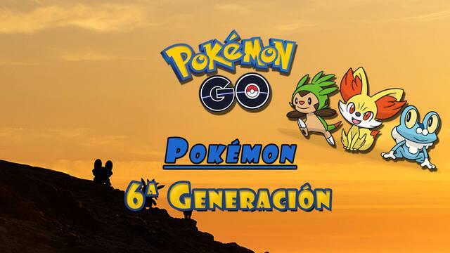 Pokémon GO - Generación 6: Todos los Pokémon confirmados de Kalos