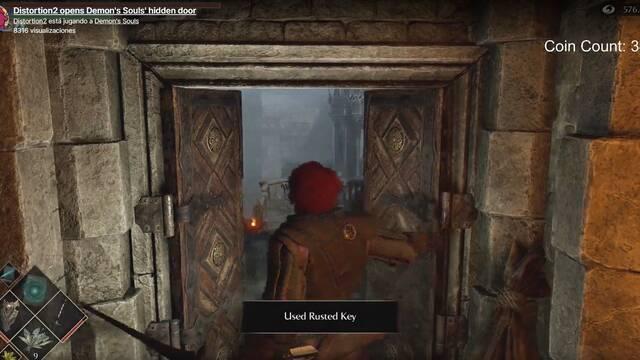 Demon's Souls Remake: la misteriosa puerta se abre